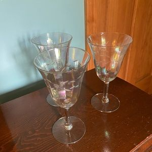 Antique/Vintage beverage glasses
